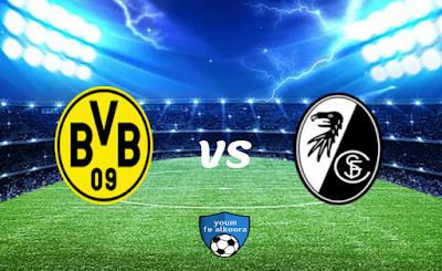 مشاهدة مباراة فرايبورج مع بوروسيا دورتموند بث مباشر اليوم 6-2-2021 في الدوري الألماني.
