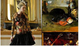 A moda dialoga coa arte