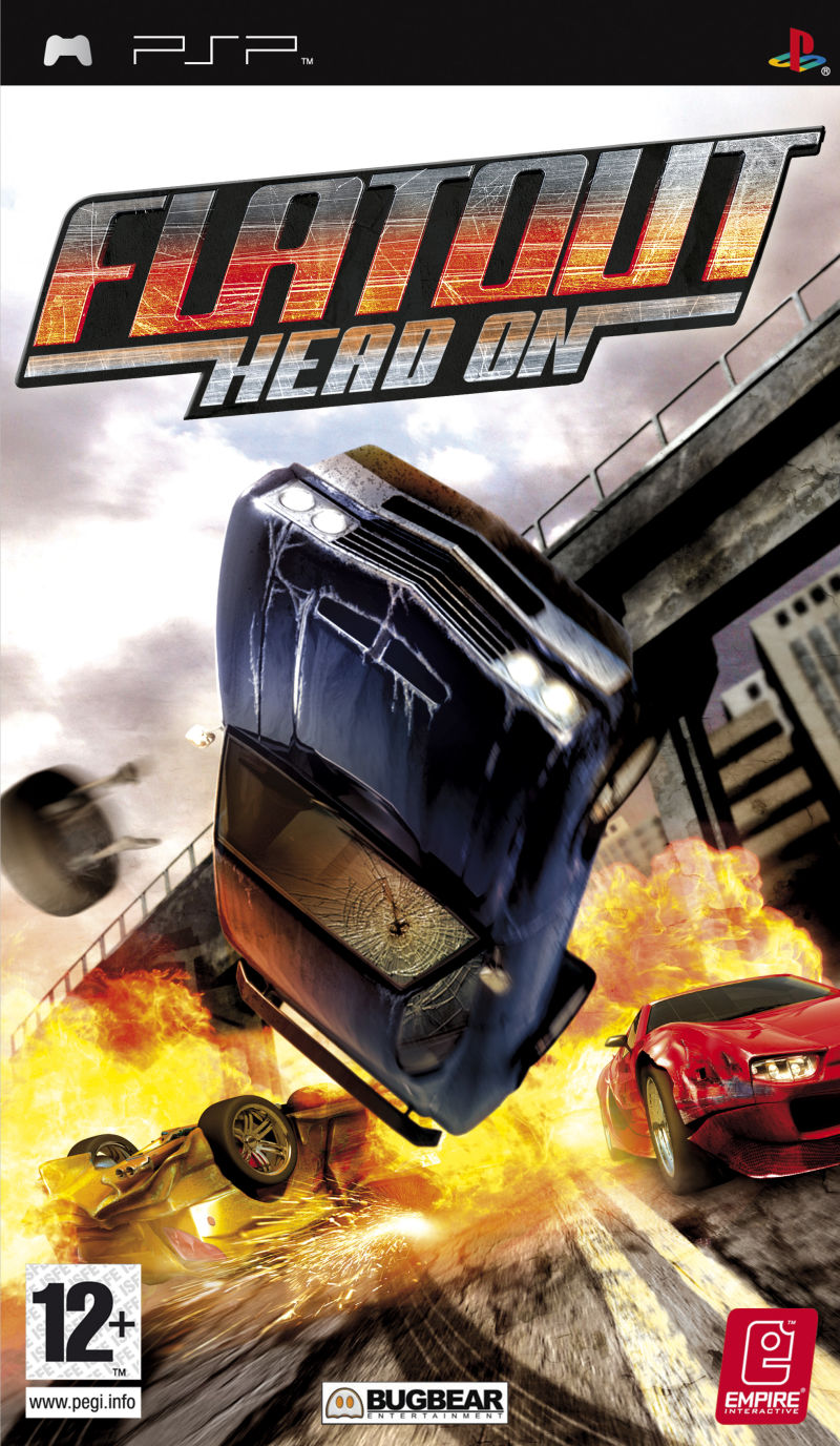 ROMs - FlatOut - Head On (Português) - PSP Download