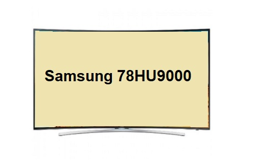 Samsung 78HU9000 TV specifications