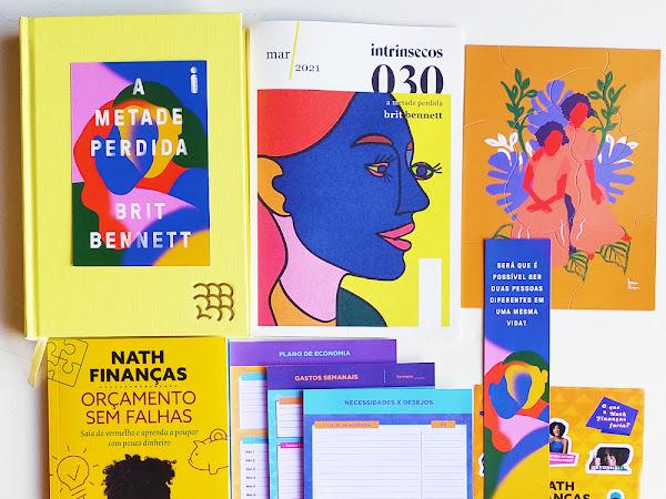 Intrínsecos, o clube de livros da Editora Intrínseca #030 (março)