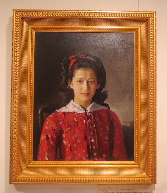 Абрамцево: девочка с портрета Серова
