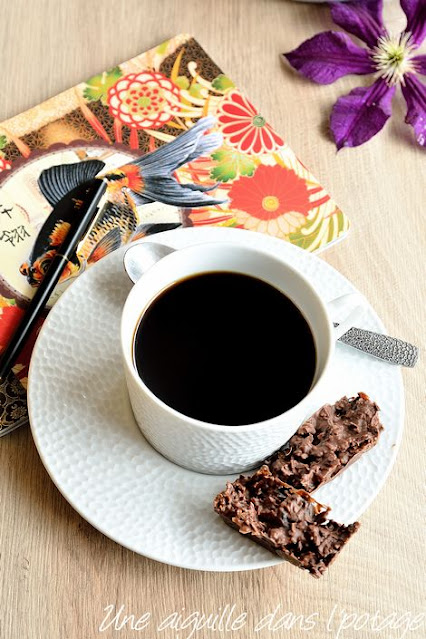Crousty délice-chocolat-crêpe dentelle-fruits secs