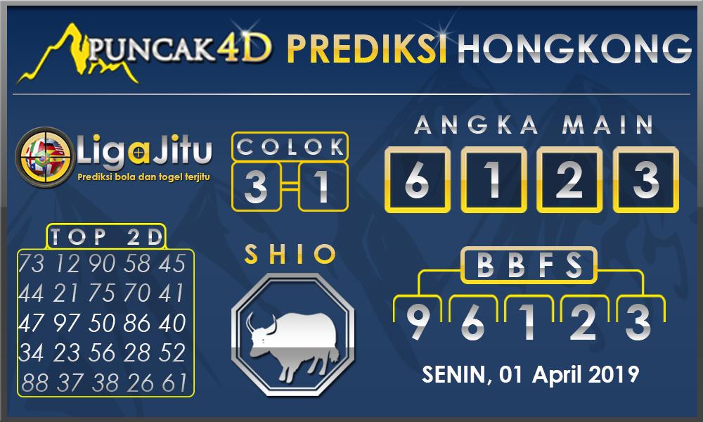 PREDIKSI TOGEL HONGKONG PUNCAK4D 01 APRIL 2019