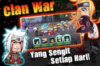 Download Gratis Shinobi rebirth Ninja War v1.0.11 Apk + Data For Android terbaru 2016