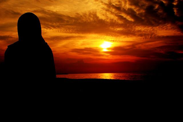 Bintang Kejora: Terbenam Di Ufuk Barat Kendal. Sunset Keren di Pantai Sendang Si Kucing Kendal!