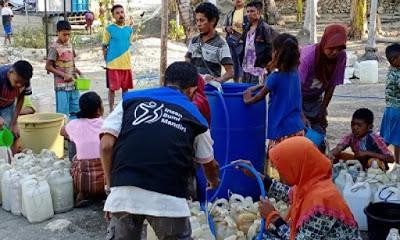 Relawan Insan Bumi Mandiri membangun pedalaman di Indonesia