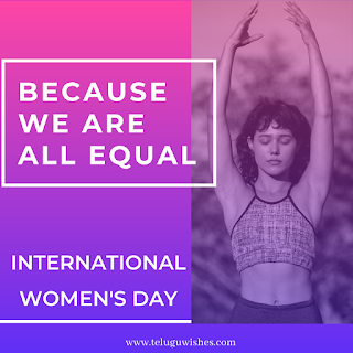 We are equal Women's Day Instagram Posts