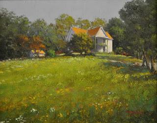 cuadros-con-casas-de-campo-pintadas-al-oleo vistas-con-casas-de-campo-pinturas