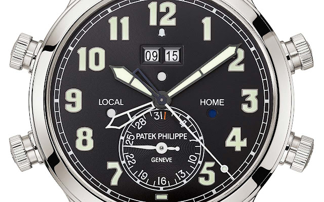 Patek Philippe Ref. 5520P-001 Alarm Travel Time