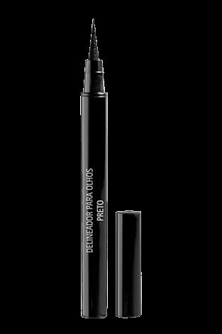 delineador em caneta