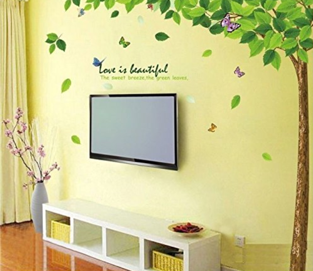 Decals Design Bestselling wall sticker Leaves Tree in India