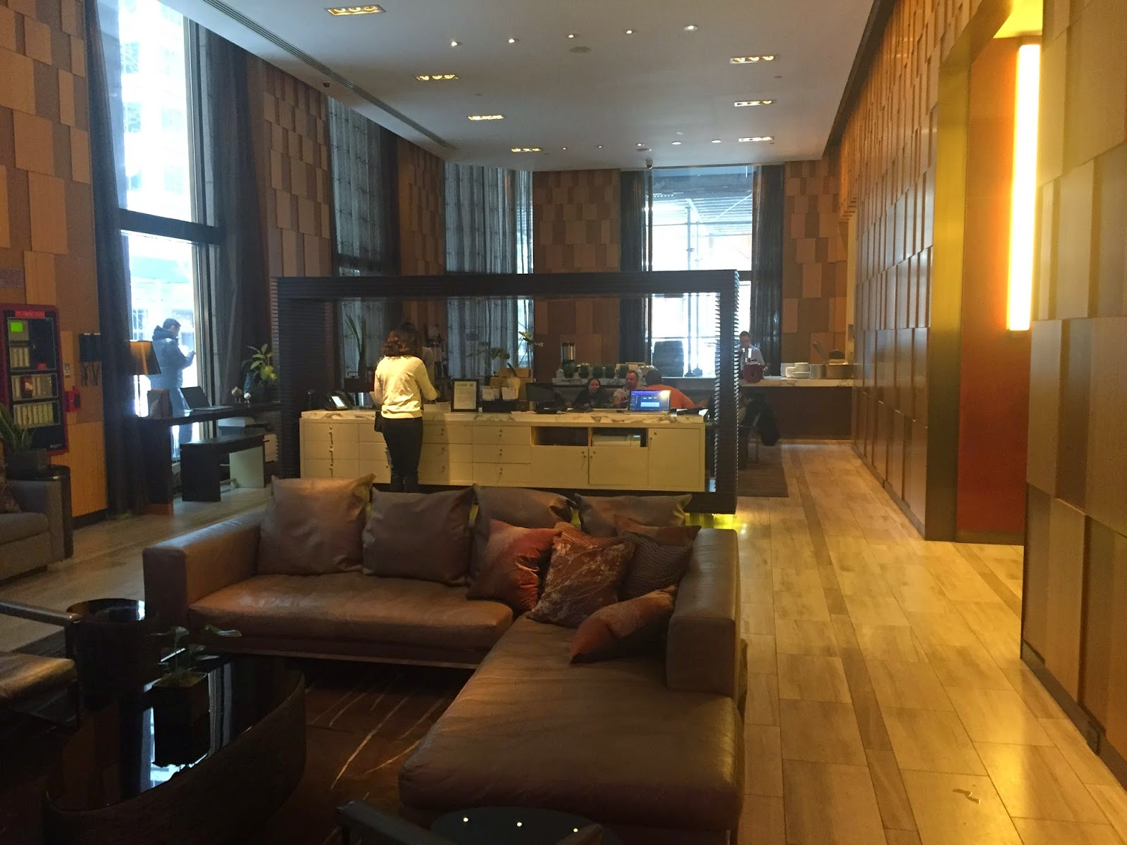 The Pointiff Review Andaz Wall Street New York