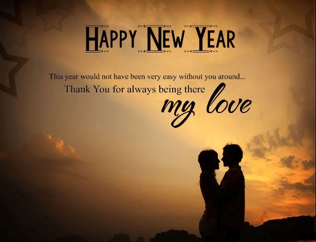 Lovers Image Of Happy New Year 2018