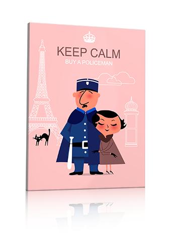 affiche policier français
