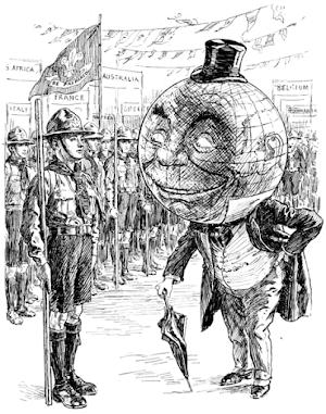 Sejarah Jambore Dunia Pertama