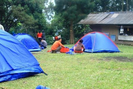 Paket Camping di Puncak