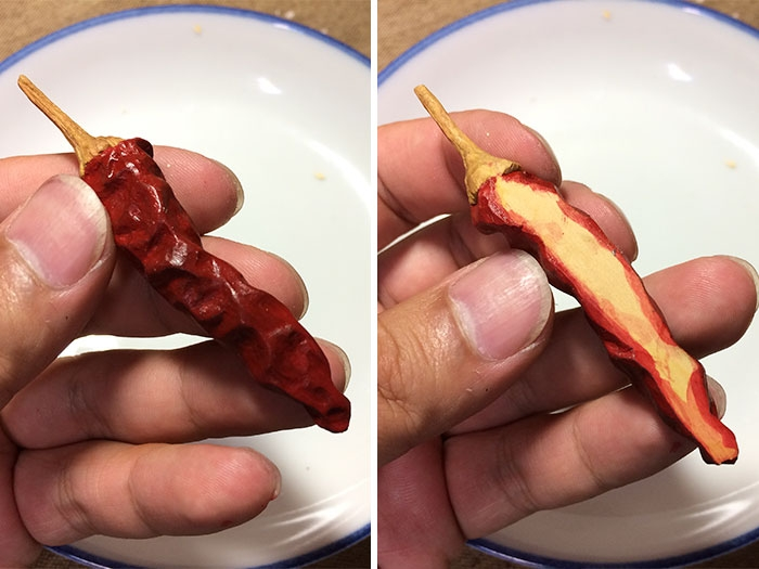 18-Chilli-Seiji-Kawasaki-Mouth-Watering-Realistic-Food-Art-Made-out-of-Wood-www-designstack-co
