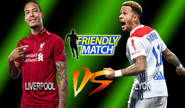 Prediksi Liverpool Vs Lyon 1 Agustus 2019