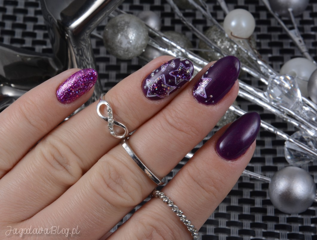 Jagodowa W świecie Lakierów Nail Art And Lacquers święta 2018