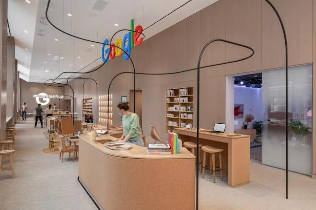 A segunda loja física do Google  em Nova York