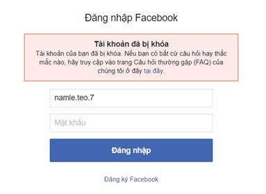 Cách làm tài khoản Facebook người khác bị khóa chỉ với 1 bức ảnh