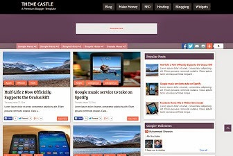 ThemeCastle Blogger Template