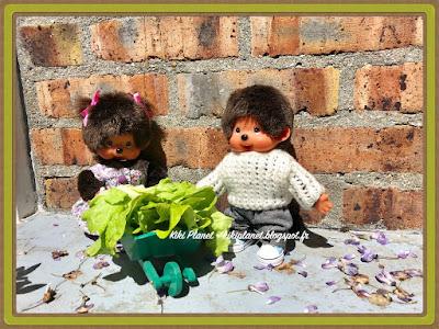 kiki monchhichi, bebichhichi jardin tortue, video humour, toys life, vintage