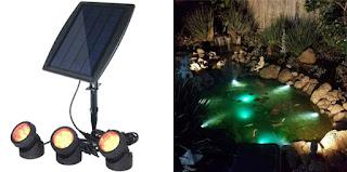 Pond Solar Light