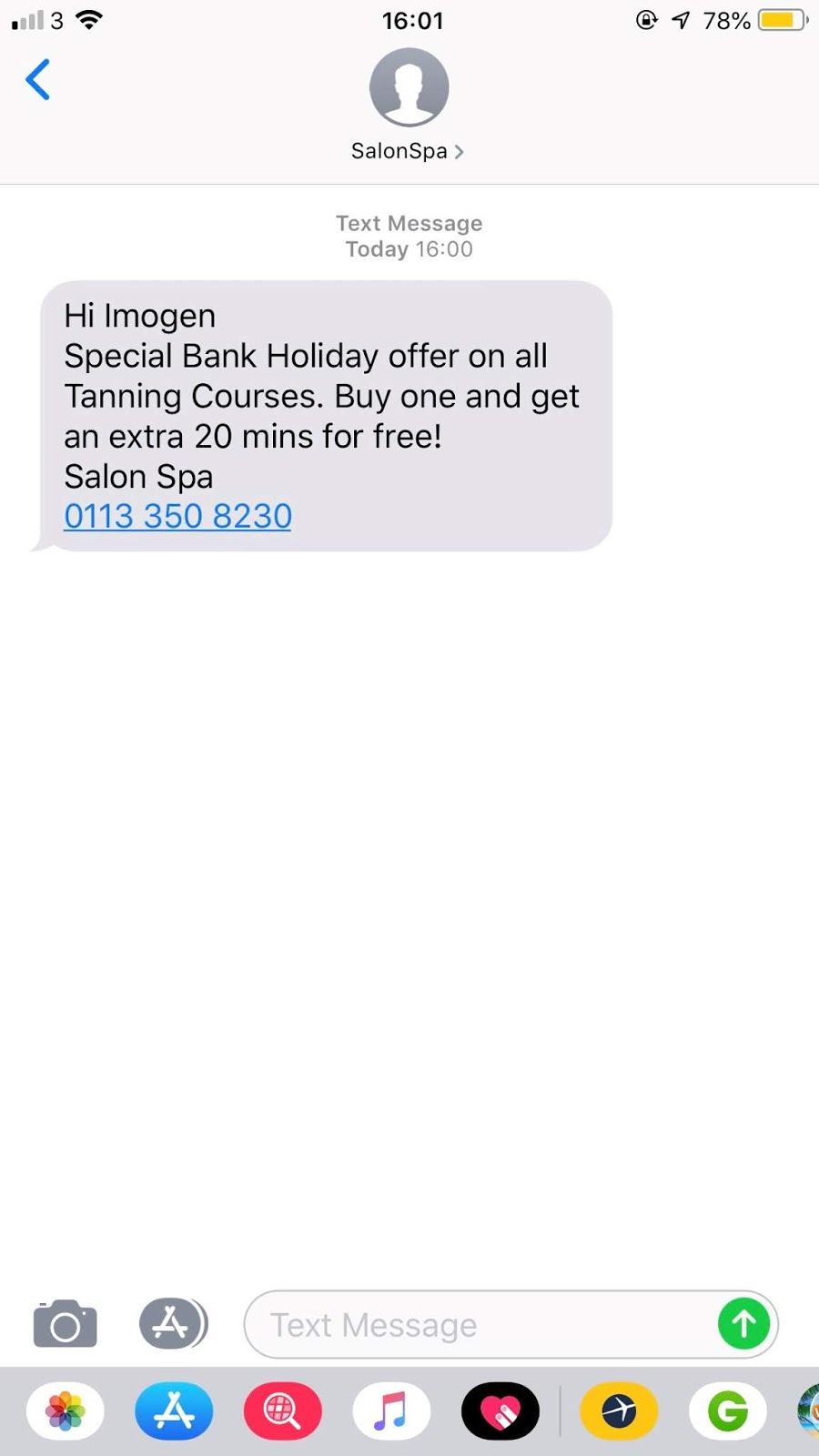 Salon Software News  August-Bank-Holiday-SMS-Ideas