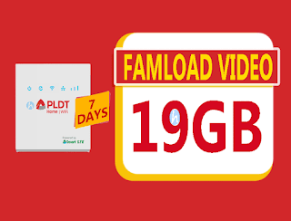 Famload Video 199 – 19GB Data for 7 Days