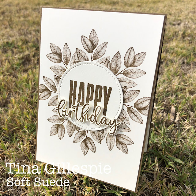 scissorspapercard, Stampin' Up!, Colour Creations, Biggest Wish, Forever Fern, Stitched Shapes Dies