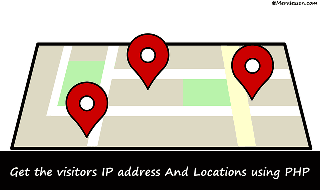 get users ip location in php