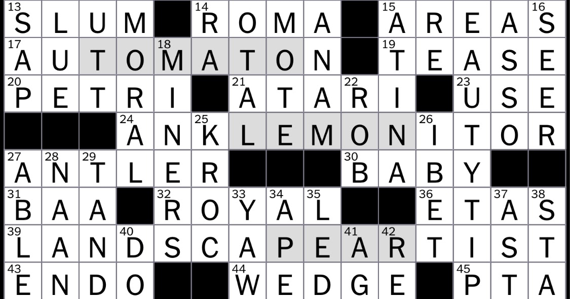 Rex Parker Does The Nyt Crossword Puzzle Black Tea Variety Tue 11 5 19 The Grapes Of Wrath Migrator Edwards Or Ramstein Abbr
