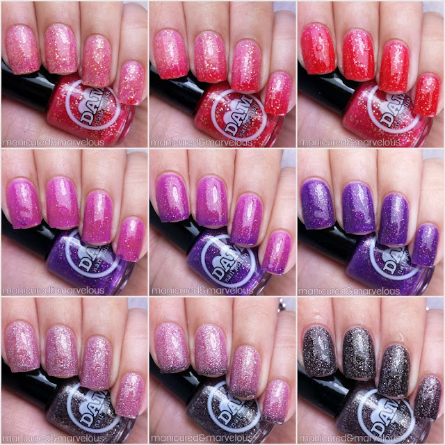 Dam Nails - Thermal Valentine Trio