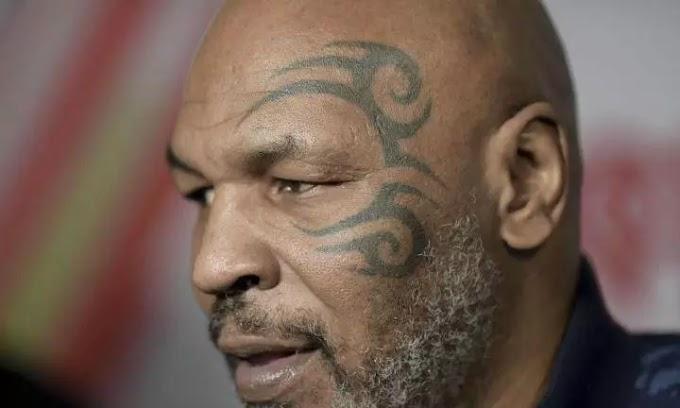 Mike Tyson revela que pagou 225 mil euros a senhora atacada pelo seu tigre
