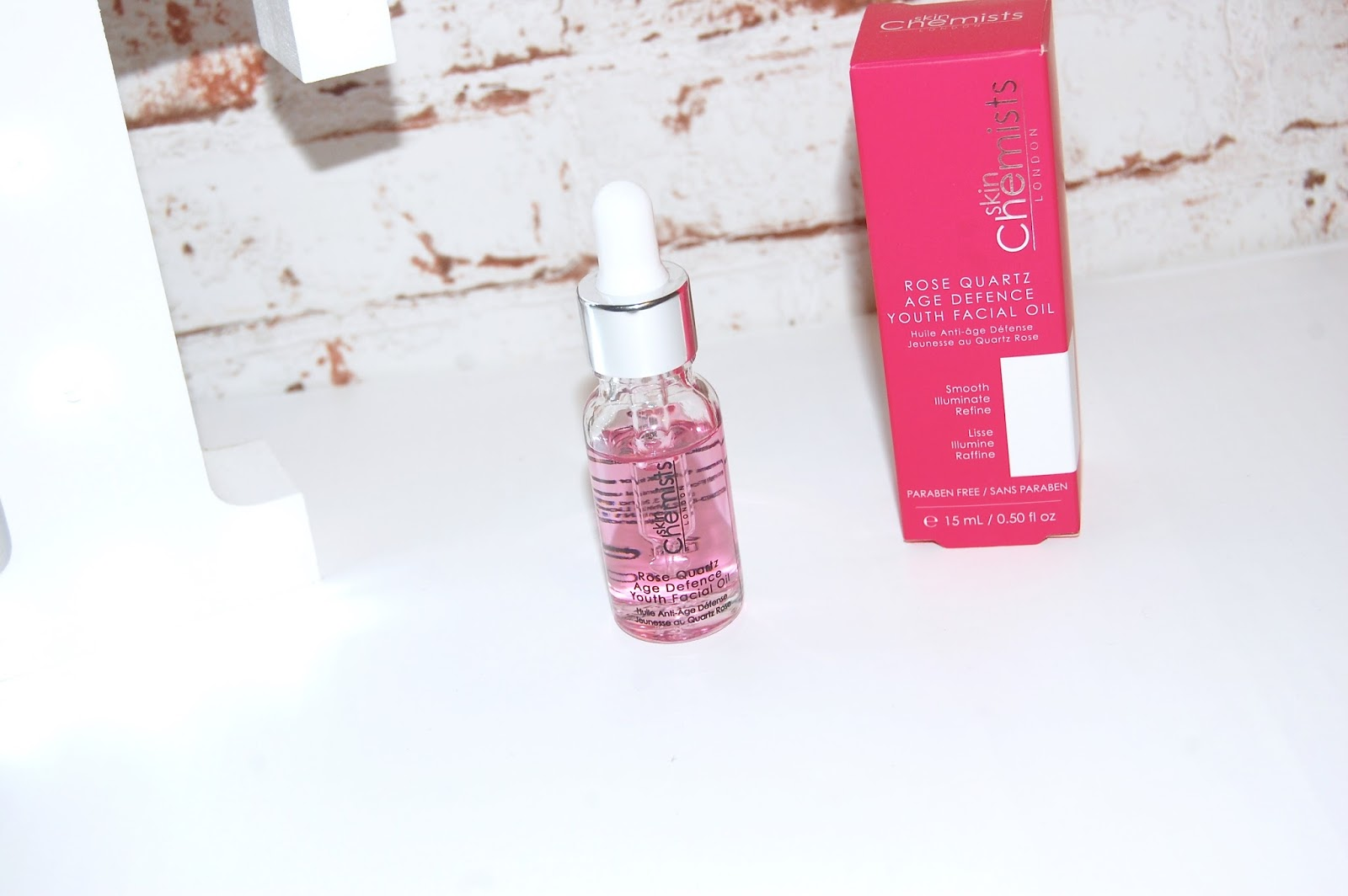 Skin Chemists Rose Quartz Age Defence Youth Facial Oil