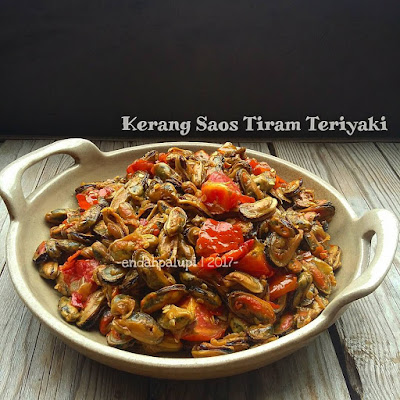 Resep Kerang Saos Tiram Teriyaki By @endahpalupid