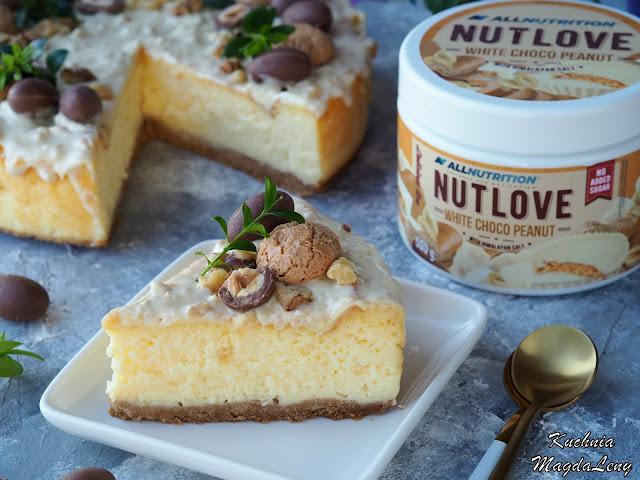 Sernik z kremem NUTLOVE White Choco Peanut