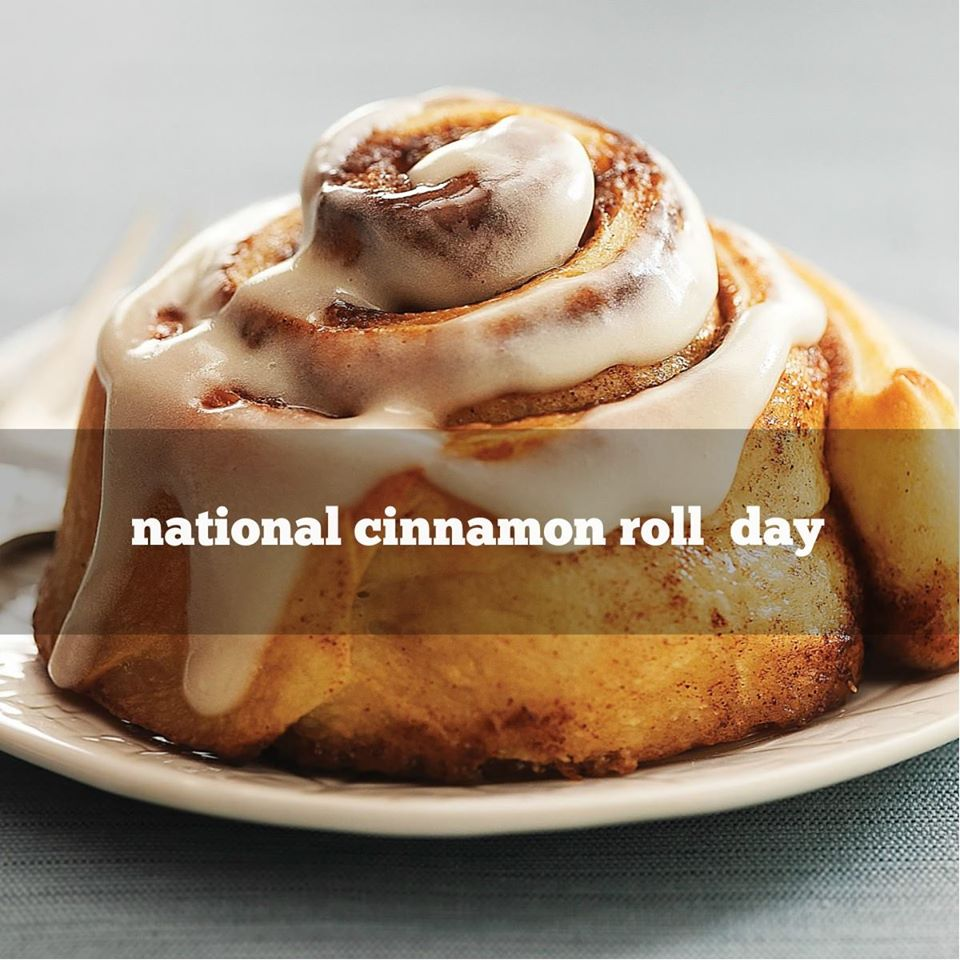 National Cinnamon Roll Day Wishes pics free download