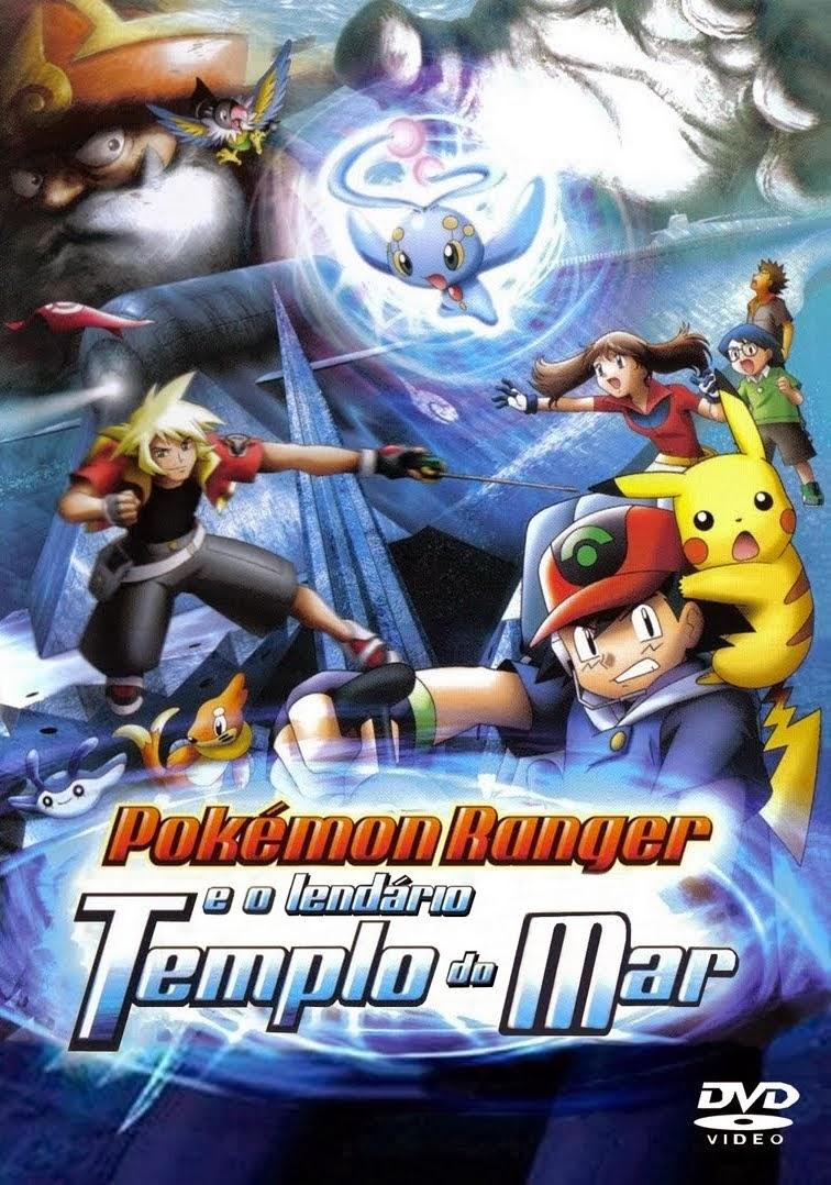 Poster do filme Pokémon Ranger e o Lendário Templo do Mar