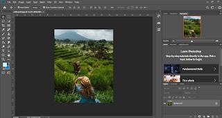 cara memperbesar foto melalui photoshop