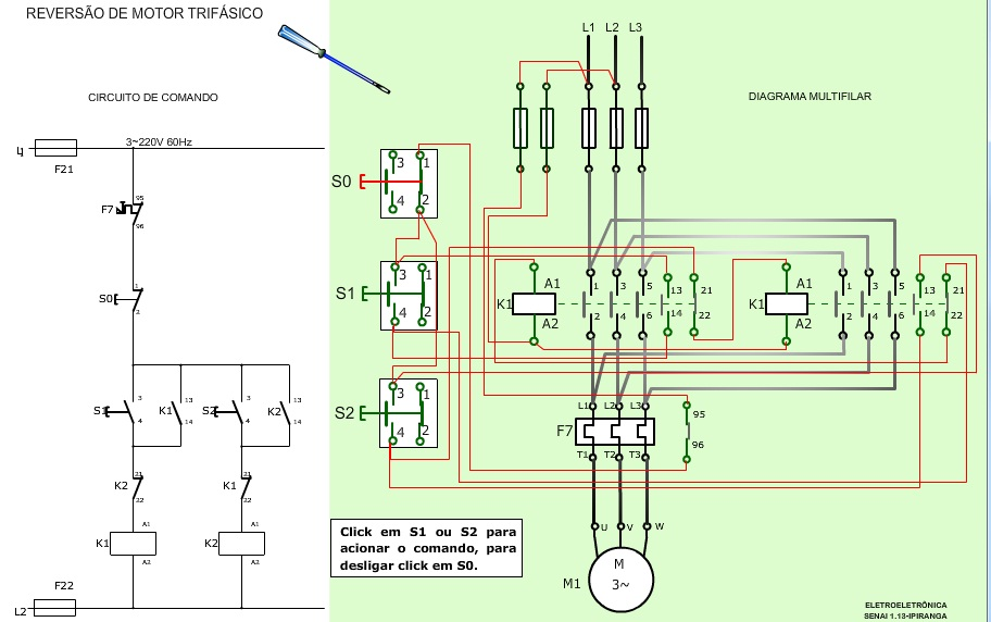 diagrama+revers%C3%A3o+trifasico ceiling fan capacitor wiring diagram on wiring diagram automatic transfer switch