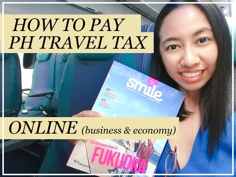 How to Pay Philippine Travel Tax Online, hassle-free!
