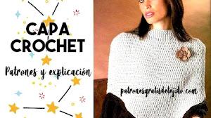 Capa a Crochet | Guía de tejido