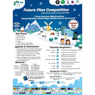 Future Plan Competition ISS 2019