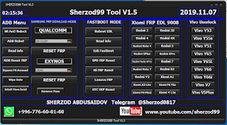 Sherzod99 Tool v1.5 Frp Unlock Tool 2019 Free Password Download By Androidtipsbd71