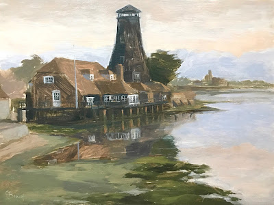 #162 Langstone Mill 9×12″
