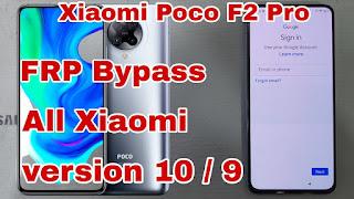 Xiaomi Poco F2 Pro Lupa Password Akun Email