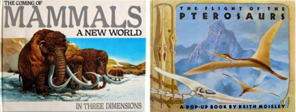 Pop-up books the coming of mammals and The flight of the Pterosaurs